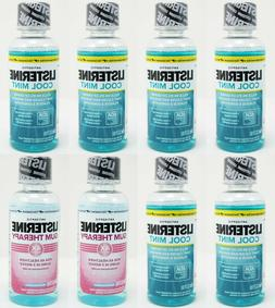 Listerine Cool Mint Antiseptic Mouthwash for Bad Breath, Pla