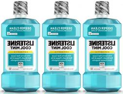 Listerine Antiseptic Mouthwash Cool Mint, 99.9% Germs Kill 2
