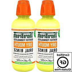 TheraBreath Dentist Recommended Dry Mouth Oral Rinse - Tingl