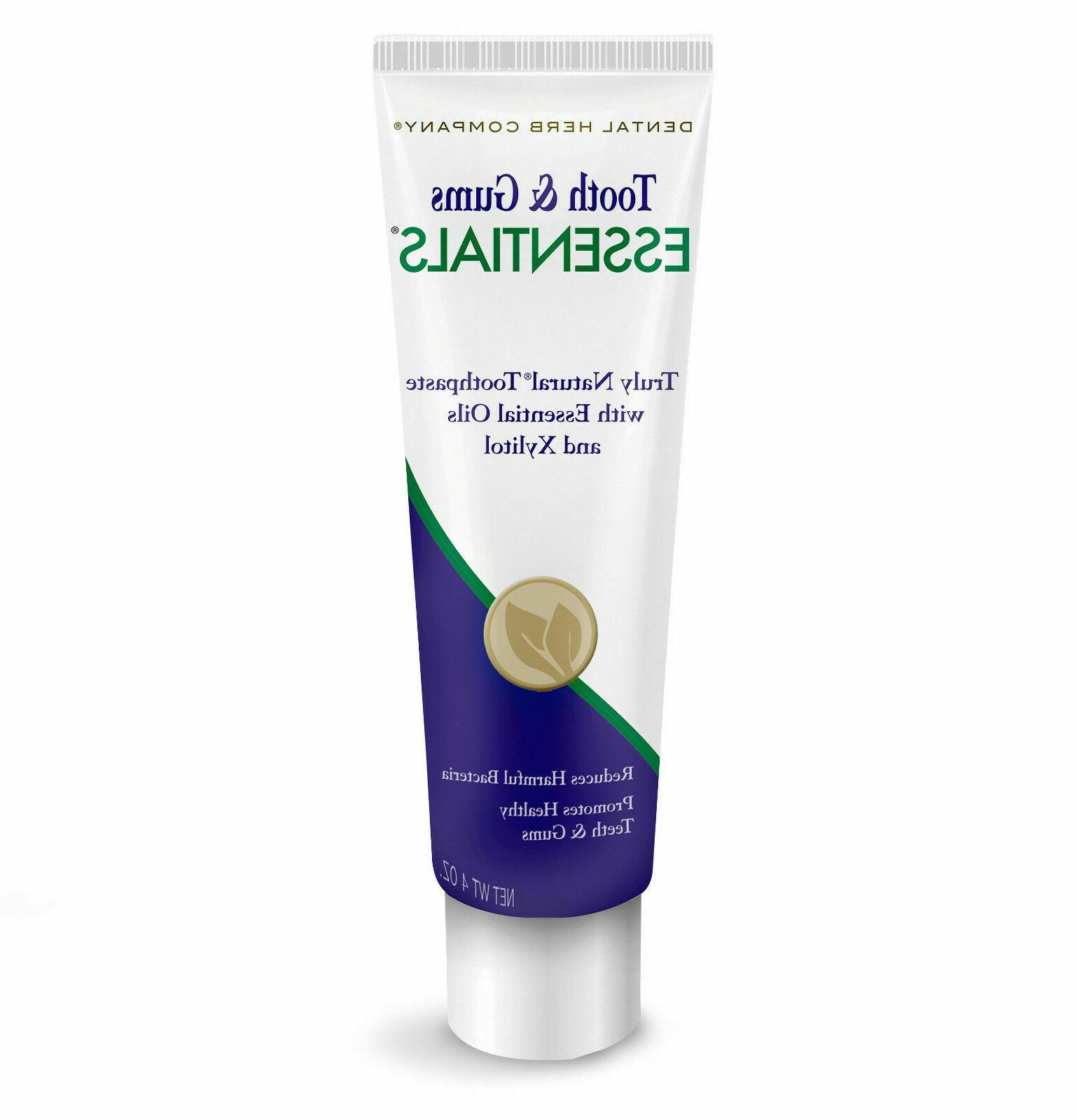 tooth and gums essentials toothpaste 4 ounce