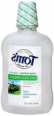 Tom's of Maine Natural Wicked Fresh! Mouthwash, Cool Mountai
