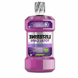 Listerine Total Care Anticavity Mouthwash 6 Benefit Fluoride