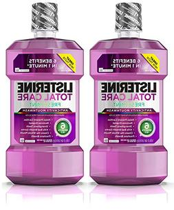 Listerine Total Care Anticavity Mouthwash, 6 Benefit Fluorid