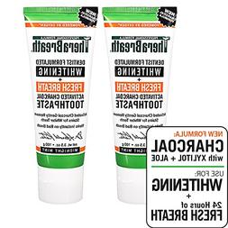 TheraBreath – Whitening + Fresh Breath Charcoal Toothpaste